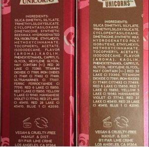 En las etiquetas se pueden leer los dos ingredientes que NO deberían contener